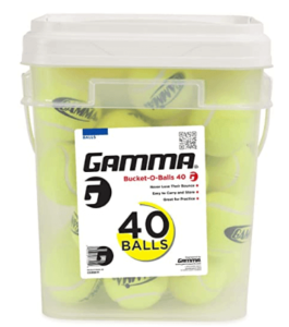 Gamma Bucket of Pressureless Tennis Balls