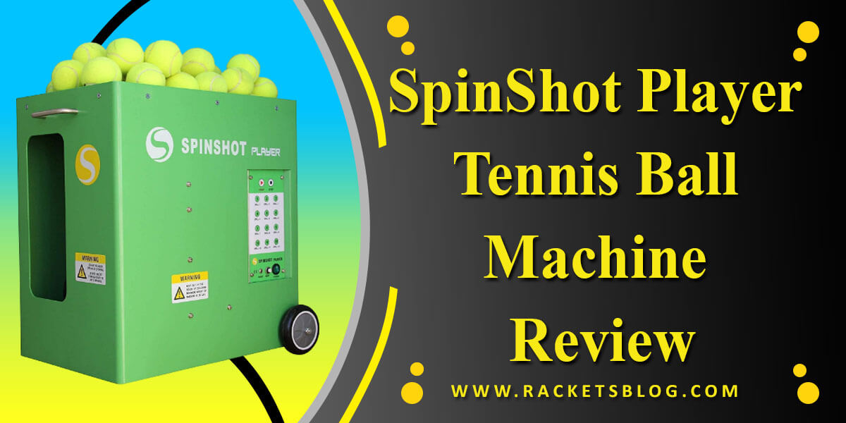 SpinShot Player Tennis Ball Machine Review